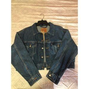 Levi's Crop Jeans Jacket